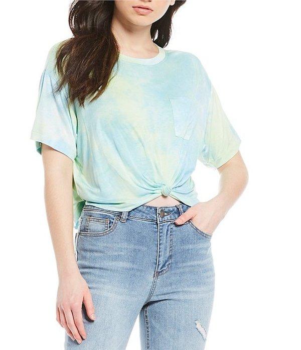 ジービー レディース Tシャツ トップス Short Sleeve Tie-Dye Top Mint