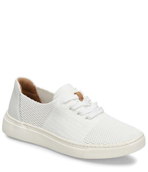 コンフォーティバ レディース スニーカー シューズ Trista Knit Mesh Lace Up Sneaker White