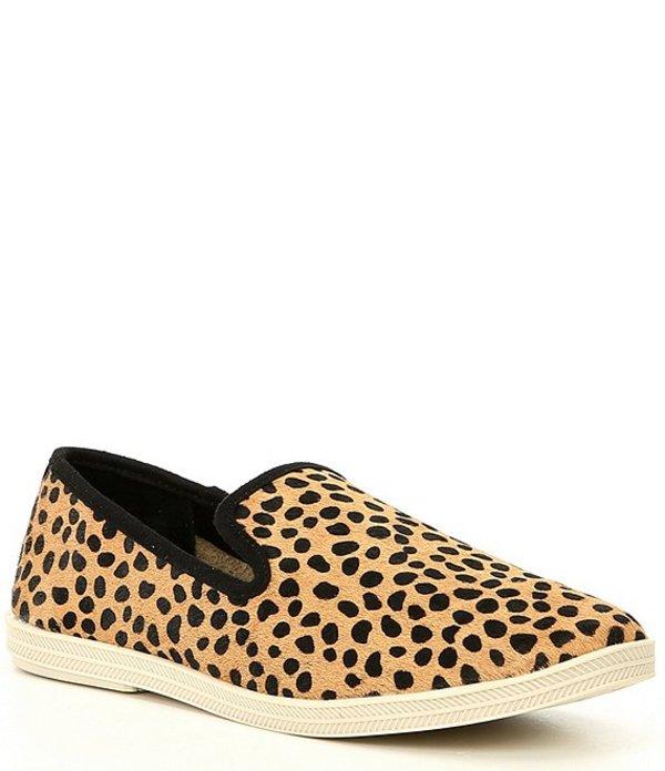 ジービー レディース スニーカー シューズ Campin-Out Leopard Haircalf Slip-On Sneakers Black/Tan