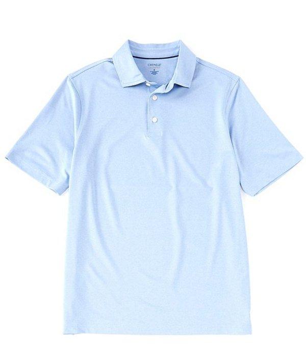 ダニエル クレミュ メンズ シャツ トップス Heather Performance Short-Sleeve Polo Shirt Vista Blue