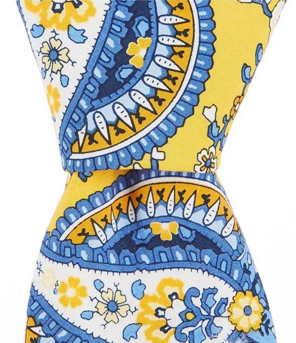 ラウンドトゥリーアンドヨーク メンズ ネクタイ アクセサリー Trademark Adrian Paisley Print Skinny 2 3/4