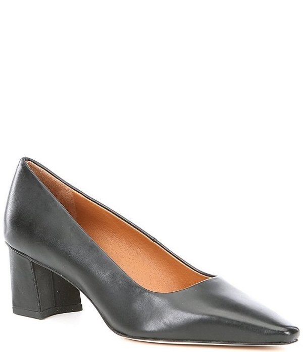 フランコサルト レディース ヒール シューズ Sarto By Franco Sarto Regal Leather Snip Toe Pumps Black