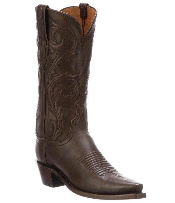 ルチーズ レディース ブーツ・レインブーツ シューズ Nicole Corded Leather Western Boots Antique Castagno