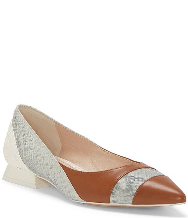 ルイスエシー レディース ヒール シューズ Carwyn Snake Print Leather Pumps Grey Multi/Walnut