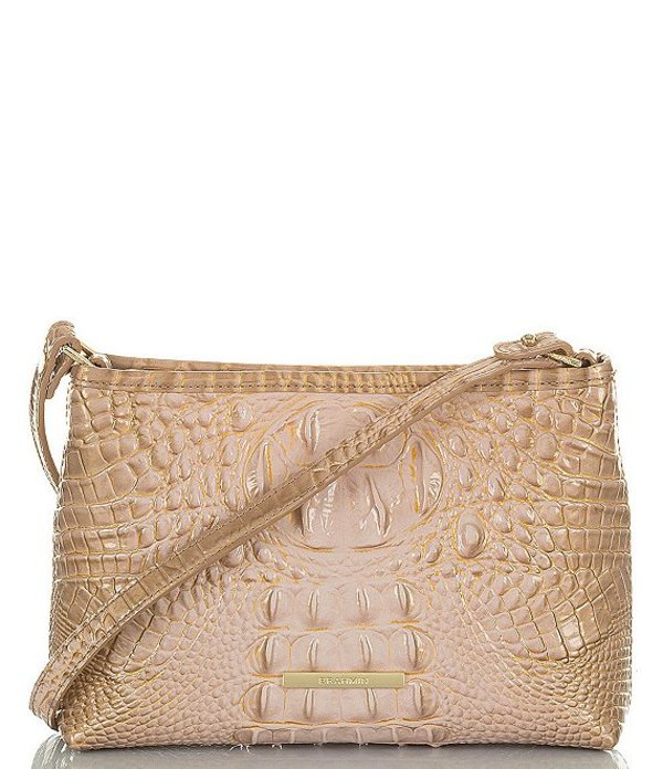 ブランミン レディース ショルダーバッグ バッグ Melbourne Collection Snake Embossed Lorelei Shoulder Bag Chiffon