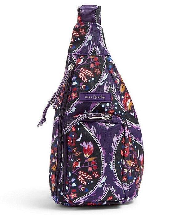 ベラブラッドリー レディース バックパック・リュックサック バッグ Lighten Up Mini Sling Backpack Foxwood Meadow