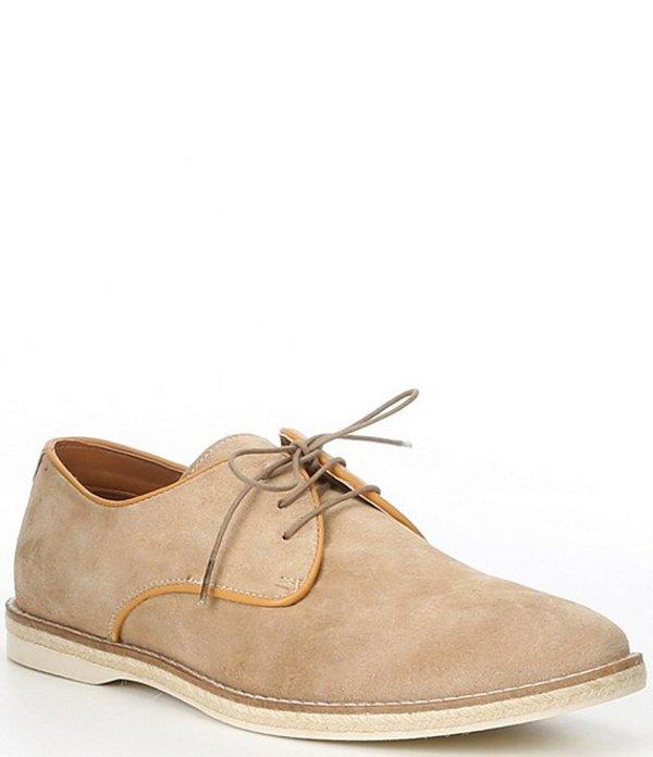 スティーブ マデン メンズ ドレスシューズ シューズ Men's Lido Suede Lace-Up Shoes Sand