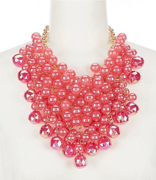 ナターシャ アクセサリー レディース ネックレス・チョーカー アクセサリー Poppin Bauble Statement Necklace Pink