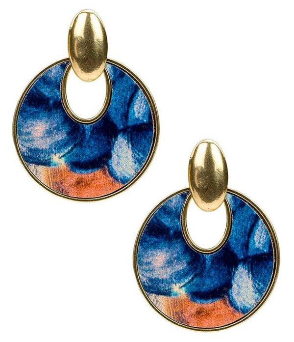 パトリシアナシュ レディース ピアス・イヤリング アクセサリー Blu Clay Simone Doorknocker Earrings Blue Clay