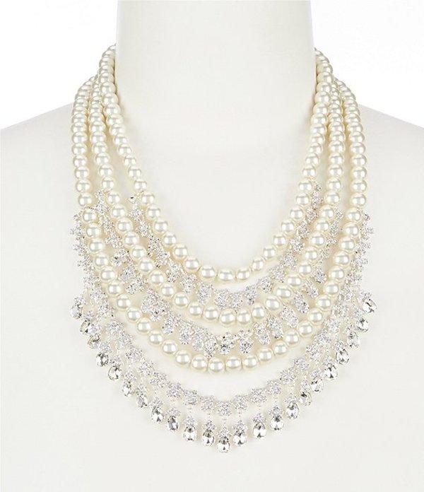 セザンヌ レディース ネックレス・チョーカー アクセサリー Venetia Statement Necklace Silver