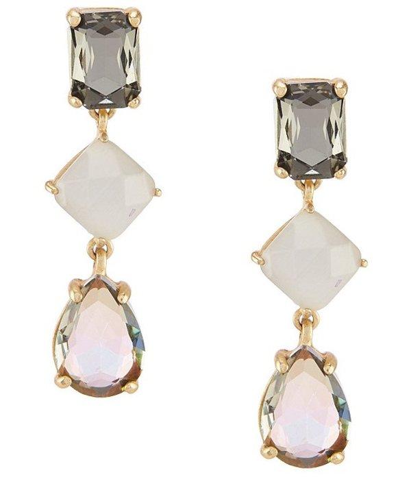 ベルバッジリーミシュカ レディース ピアス・イヤリング アクセサリー Multi Stone Linear Earrings Multi