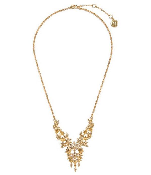 ヴィンスカムート レディース ネックレス・チョーカー アクセサリー Firework Crystal Drama Necklace Gold
