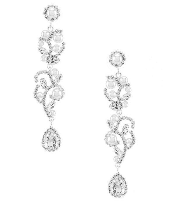 セザンヌ レディース ピアス・イヤリング アクセサリー Bridal Garden Earrings Silver