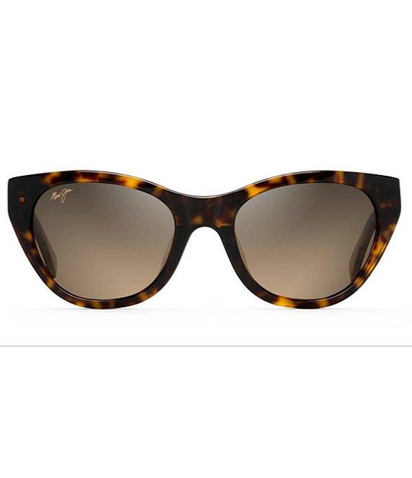 マウイジム レディース サングラス・アイウェア アクセサリー Capri Polarized Cat Eye Sunglasses Tortoise