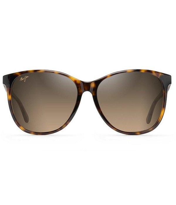 マウイジム レディース サングラス・アイウェア アクセサリー Isola Oversized Polarized Sunglasses Tortoise
