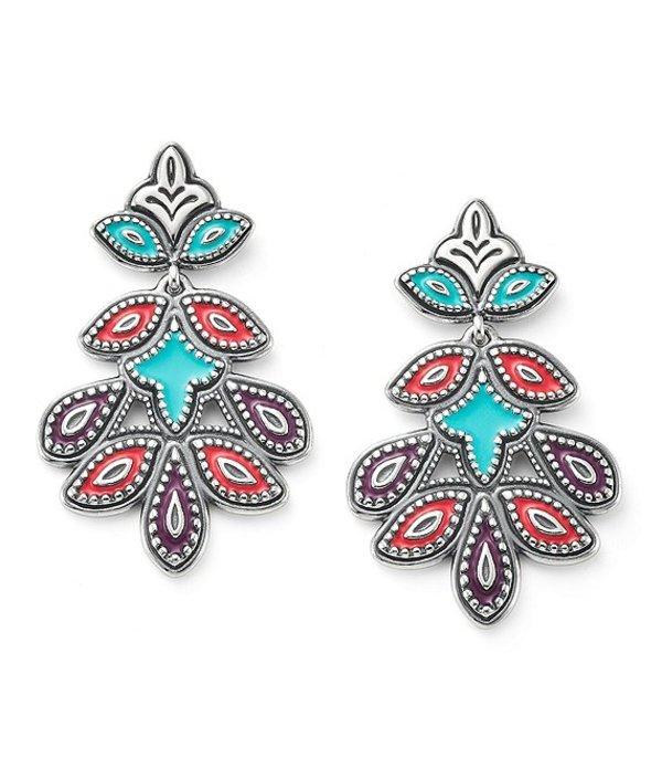 ジェームズ エイヴリー レディース ピアス・イヤリング アクセサリー Enamel Cordoba Mosaic Earrings Sterling Multicolor