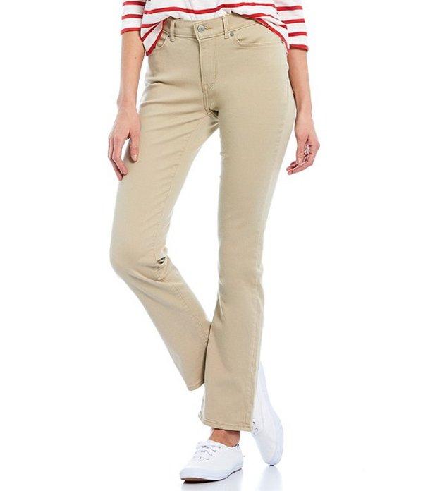 リーバイス レディース デニムパンツ ボトムス Levi'sR Classic Straight Leg Twill Jeans White Pepper