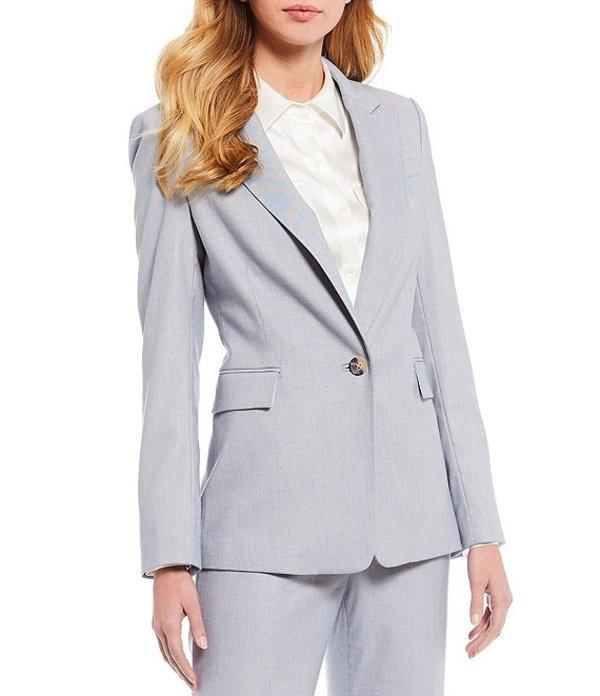 アントニオ メラーニ レディース ジャケット・ブルゾン アウター Kate Cross Dye Suiting Blazer Sky/Ivory