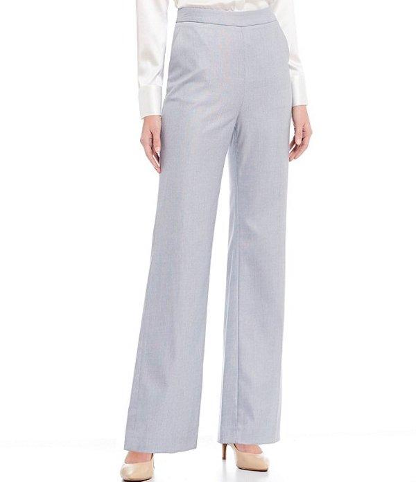 アントニオ メラーニ レディース カジュアルパンツ ボトムス Emma Cross Dye Suiting Pant Sky/Ivory