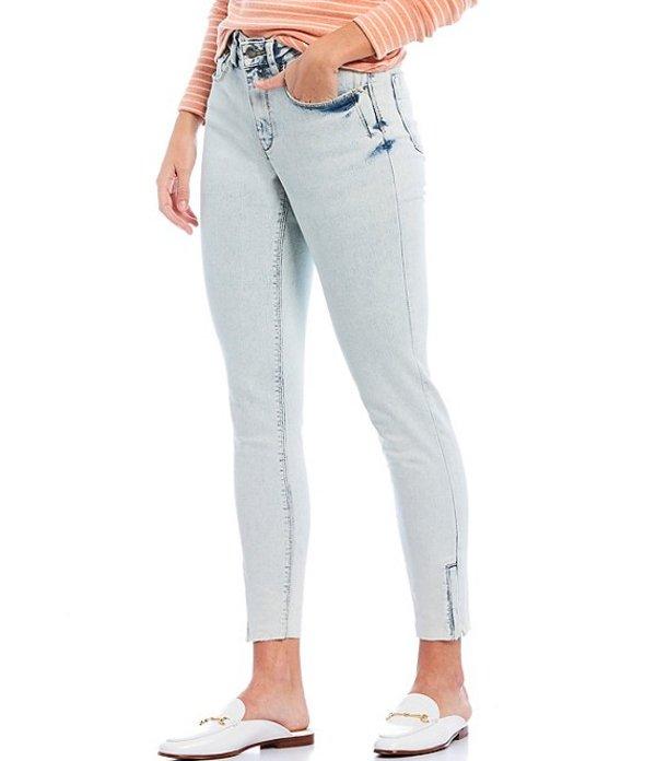 エーラブズエー レディース デニムパンツ ボトムス 5 Pocket Ankle Jean with Side Zip Light Blue