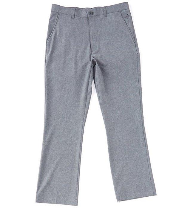 ラウンドトゥリーアンドヨーク メンズ カジュアルパンツ ボトムス Performance Classic Fit Flat Front Textured Pants Charcoal Heather