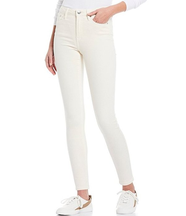 カルバンクライン レディース デニムパンツ ボトムス Jeans High Rise Dye Twill Skinny Jean Mascarpone
