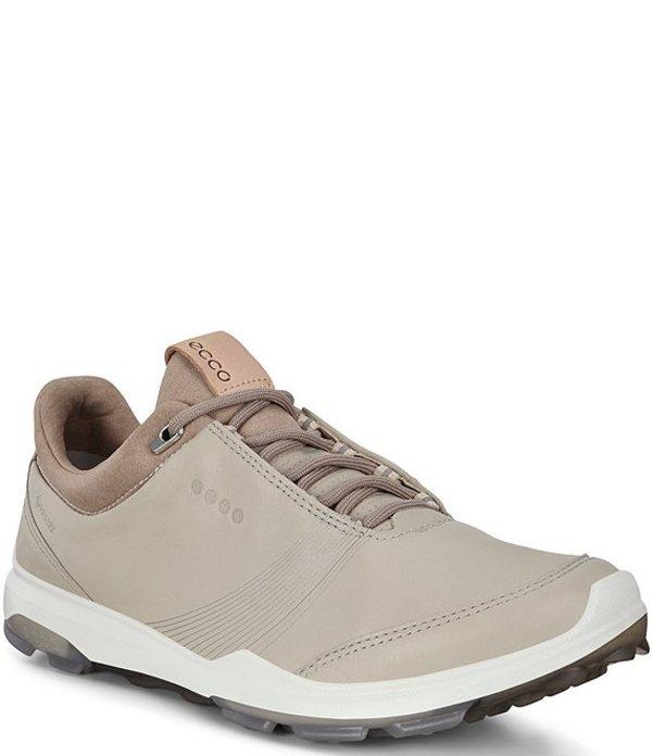 エコー レディース ドレスシューズ シューズ Golf Biom Hybrid 3 GTX Leather Golf Shoes Gravel