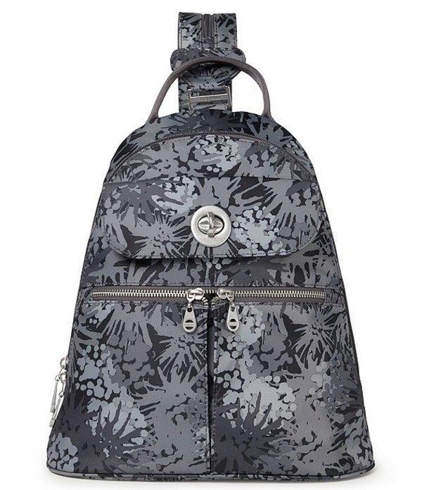 バッガリーニ レディース バックパック・リュックサック バッグ Naples Convertible Backpack Pewter Thistle