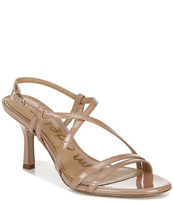 サムエデルマン レディース サンダル シューズ Paislee Patent Ankle Strap Dress Sandals Rosa Nude