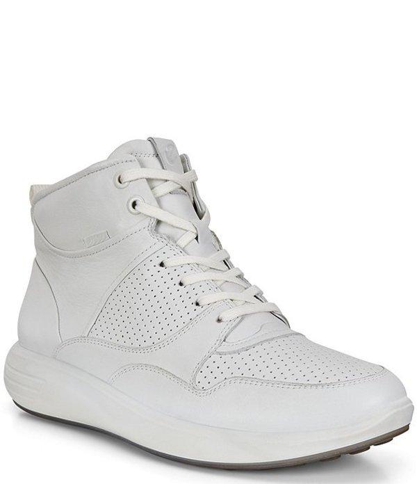 エコー レディース ドレスシューズ シューズ Soft 7 Runner Ankle Boot High Top Sneakers White