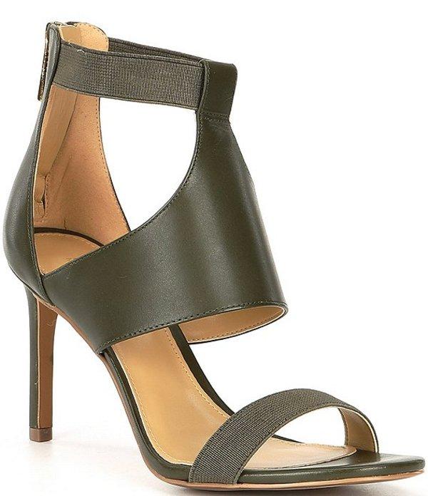 マイケルコース レディース サンダル シューズ Dominique Leather Stiletto Dress Sandals Ivy