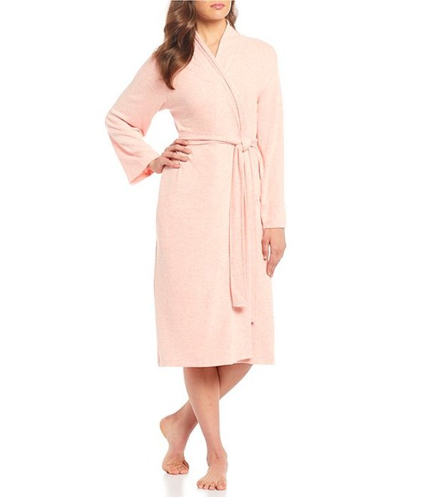 NATORI LADIES TAN /& PURPLE BATHROBE NEW WITH TAGS