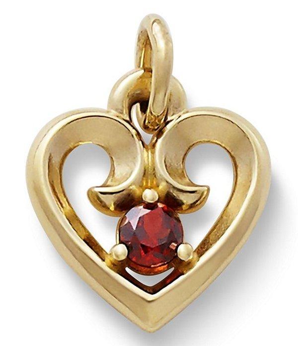 ジェームズ エイヴリー レディース ネックレス・チョーカー アクセサリー Jewelry Remembrance Heart Pendant Gold