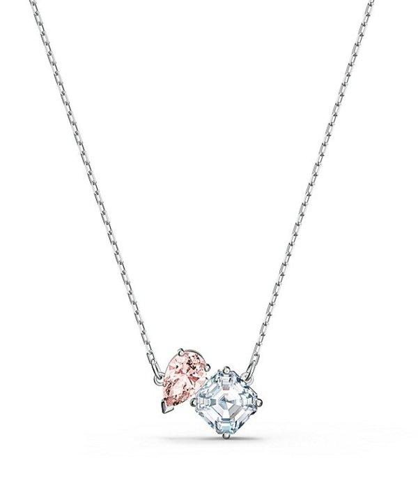 スワロフスキー レディース ネックレス・チョーカー アクセサリー Crystal Attract Soul Necklace Silver