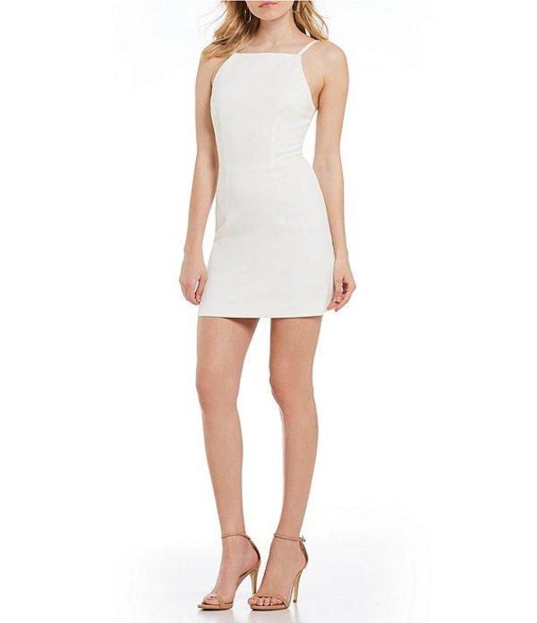 フレンチコネクション レディース ワンピース トップス Whisper Light Square Neck Sheath Dress Summer White