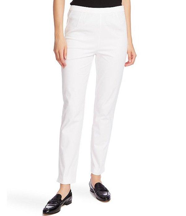 コート&ロー レディース デニムパンツ ボトムス Side Slit Flat Front Stretch Twill Cotton Blend Pants Ultra White