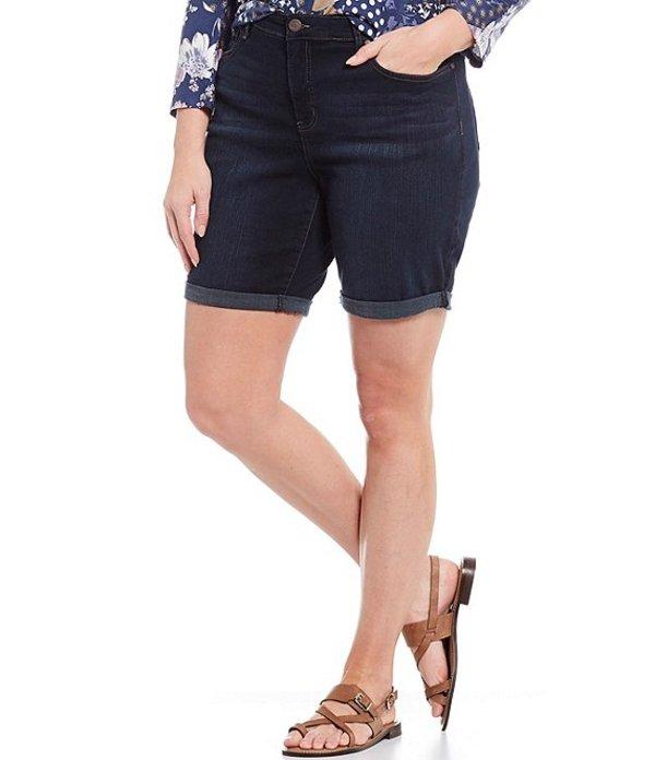 コード ブルー レディース ハーフパンツ・ショーツ ボトムス Plus Size Classic Bermuda Shorts Dark Empire