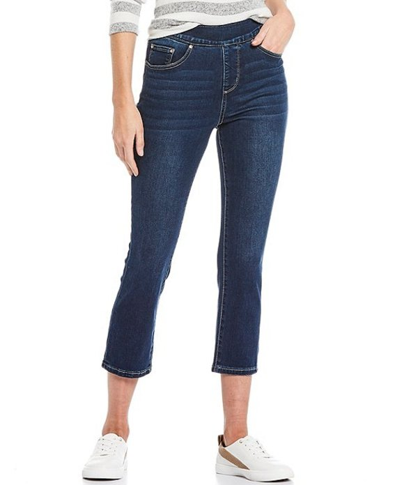 ジャグジーンズ レディース デニムパンツ ボトムス Maya Pull-On Crop Jeans Harbor