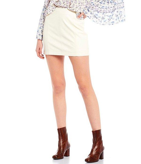 フリーピープル レディース スカート ボトムス Modern Femme Mini Skirt Snow