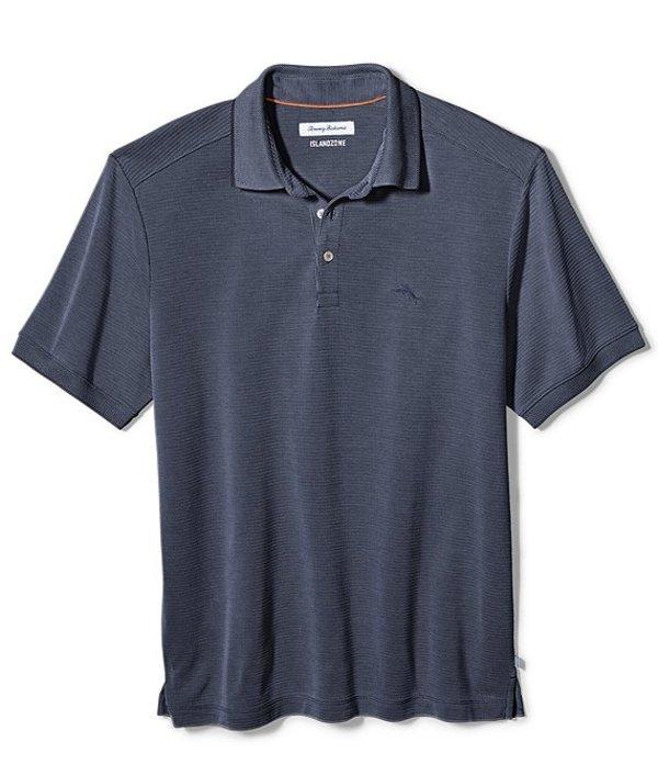 トッミーバハマ メンズ シャツ トップス Coastal Crest Short-Sleeve Polo Shirt Ocean Deep