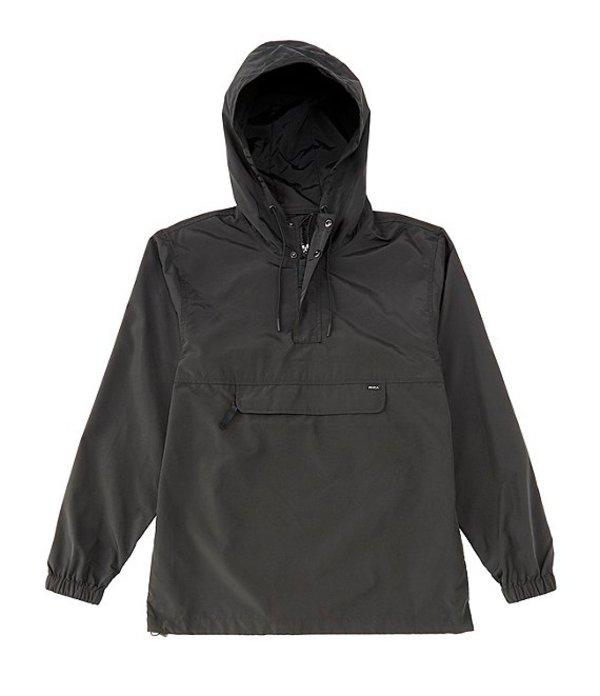 ルーカ メンズ ジャケット・ブルゾン アウター Killer Anorak Packable Jacket RVCA Black