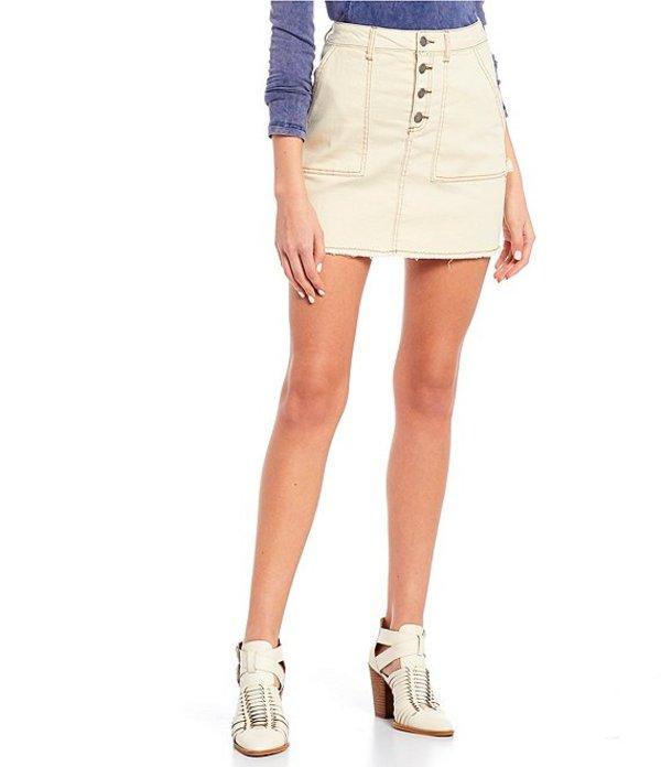 ジービー レディース スカート ボトムス Carpenter Pocket Denim Mini Skirt Scour