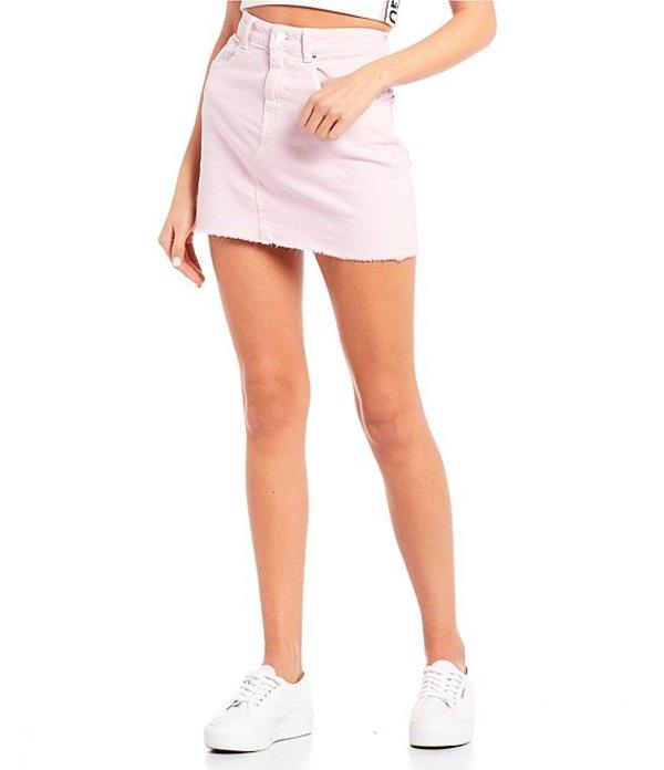 ゲス レディース スカート ボトムス India Mini Skirt Flora Pink