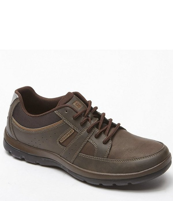 ロックポート メンズ ドレスシューズ シューズ Men's Gyk Blucher Leather Sneakers Brown