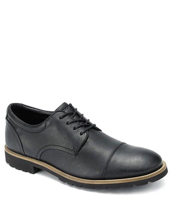 ロックポート メンズ ドレスシューズ シューズ Men's Leather Channer Oxford Black