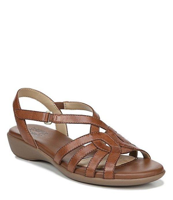 ナチュライザー レディース サンダル シューズ Nalani Casual Leather Backstrap Sandals Saddle Tan