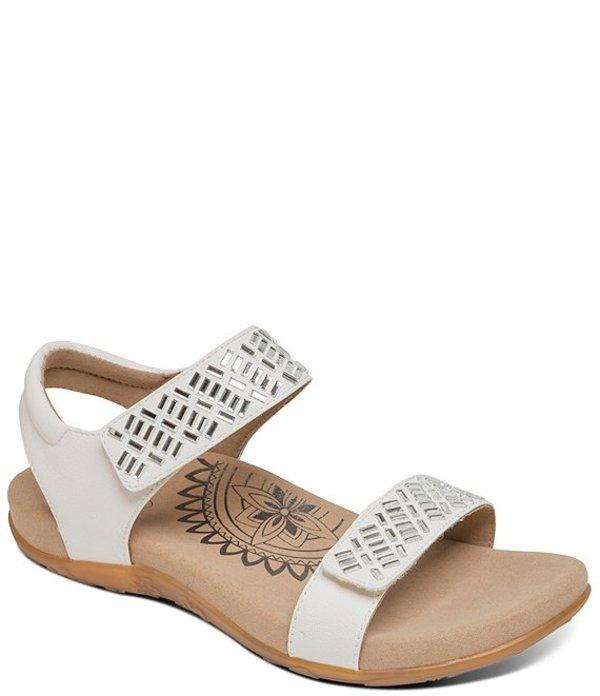 エイトレックス レディース サンダル シューズ Marcy Jewel Embellished Banded Sandals White
