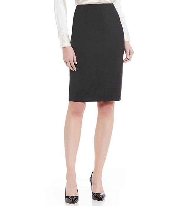 アントニオ メラーニ レディース スカート ボトムス Ace Wool Pencil Skirt Grey