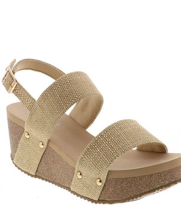 ボラティル レディース サンダル シューズ Impression Double Strap Wedge Sandals Natural