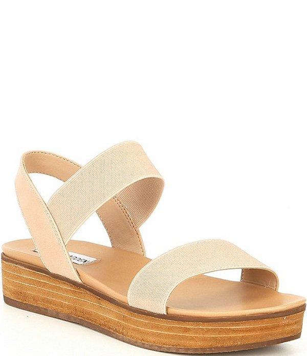 スティーブ マデン レディース サンダル シューズ Agile Stacked Platform Sandals Blush